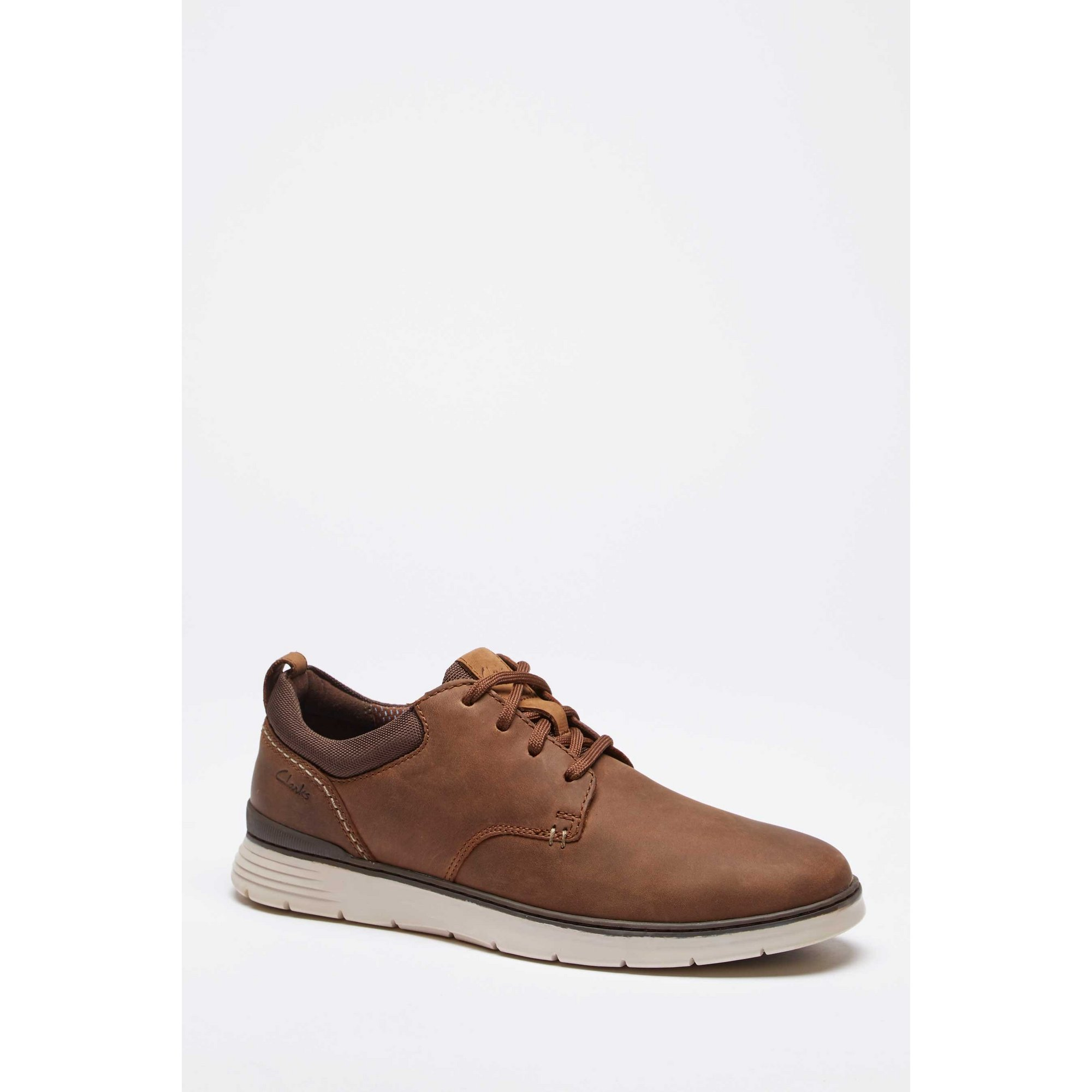 Image of Clarks Braxin Low Lace Up Shoes