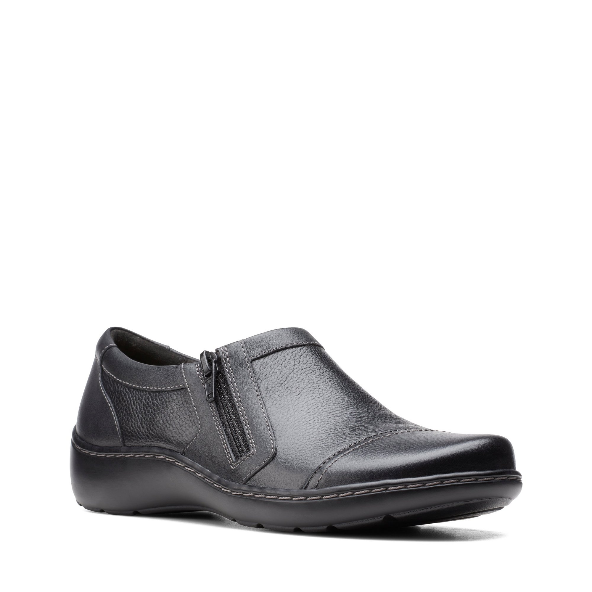 Image of Clarks Cora Giny Black Shoes