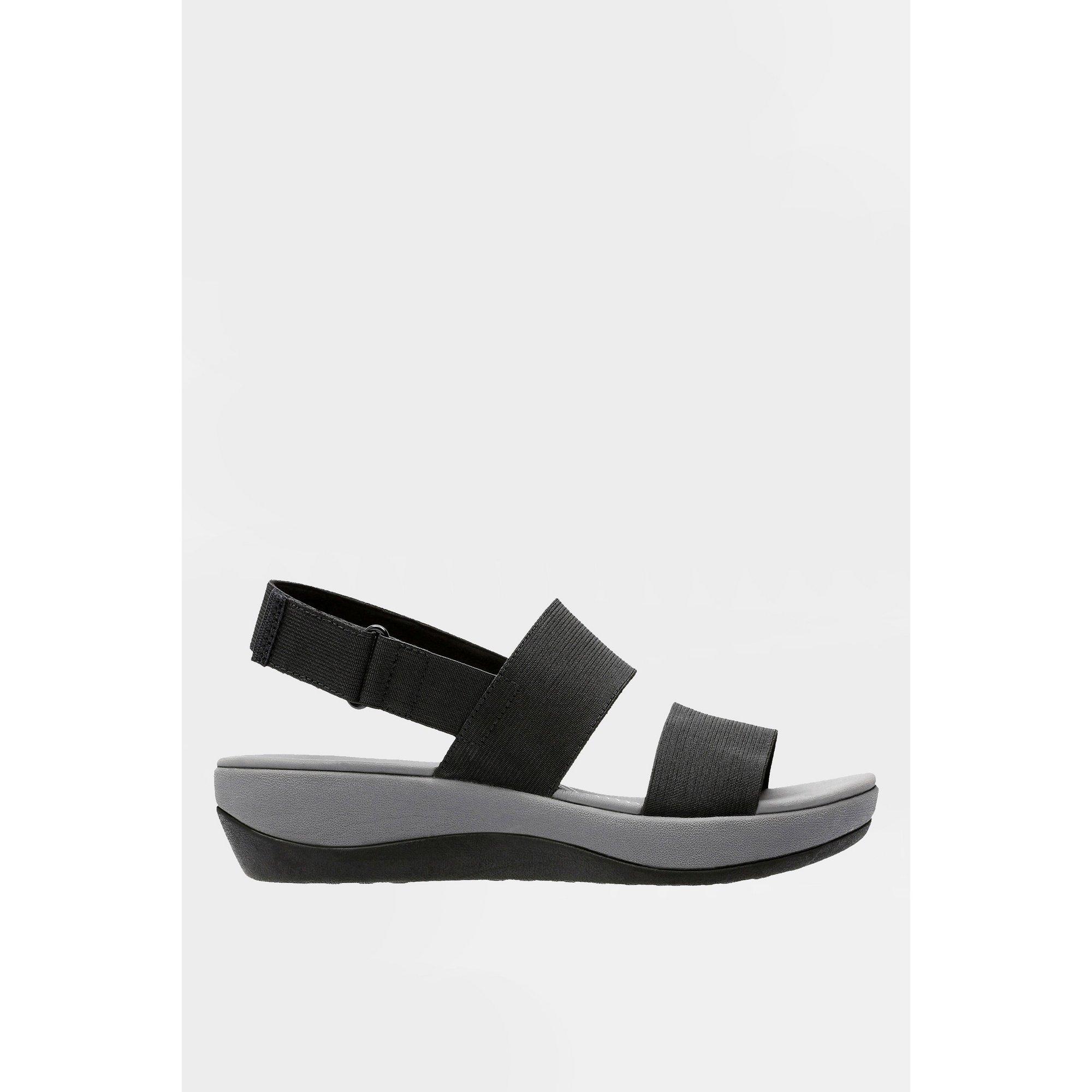 Image of Clarks Arla Jacory Black Sandals