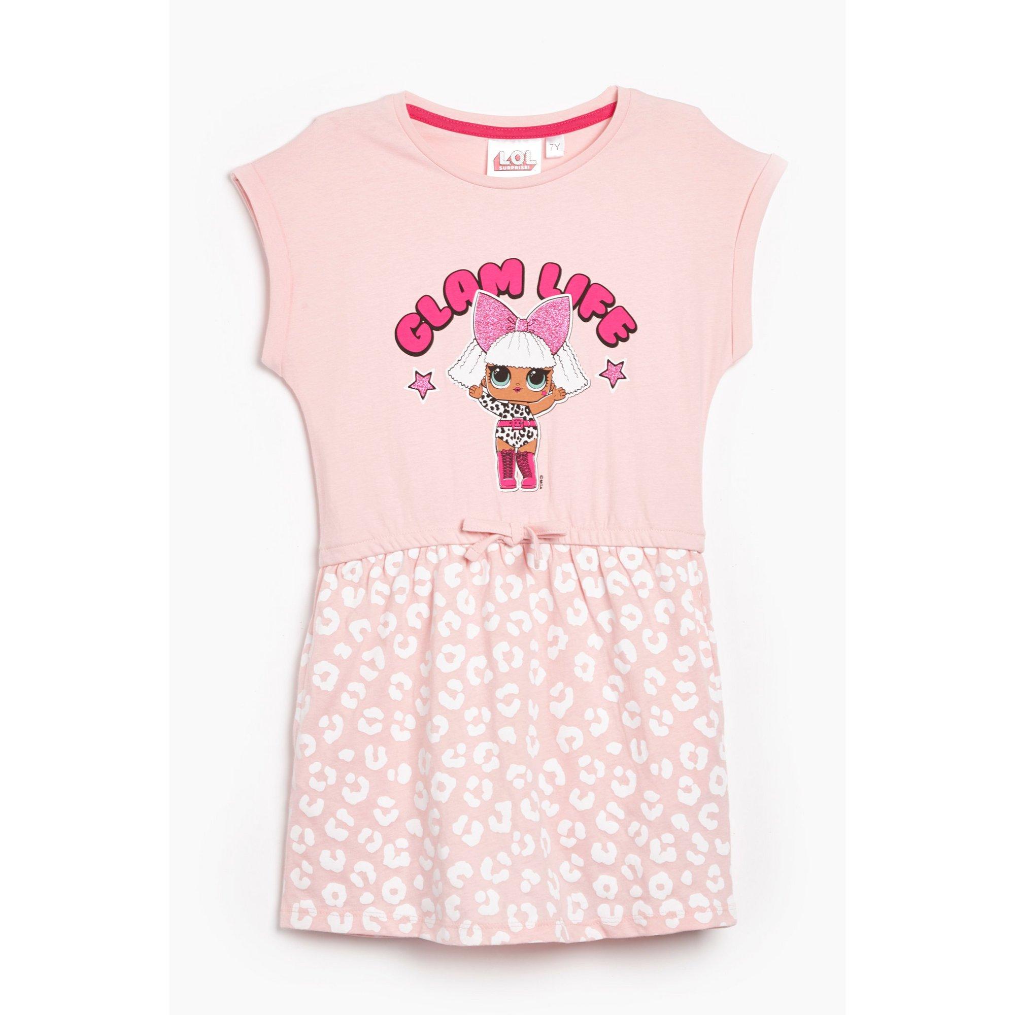 Image of Girls LOL Surprise Glam Life Short Sleeve Dress