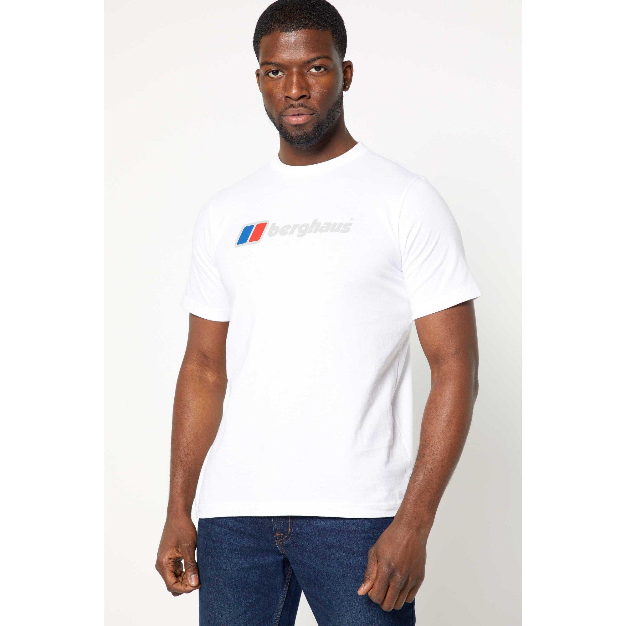 Image of Berghaus Logo White T-Shirt