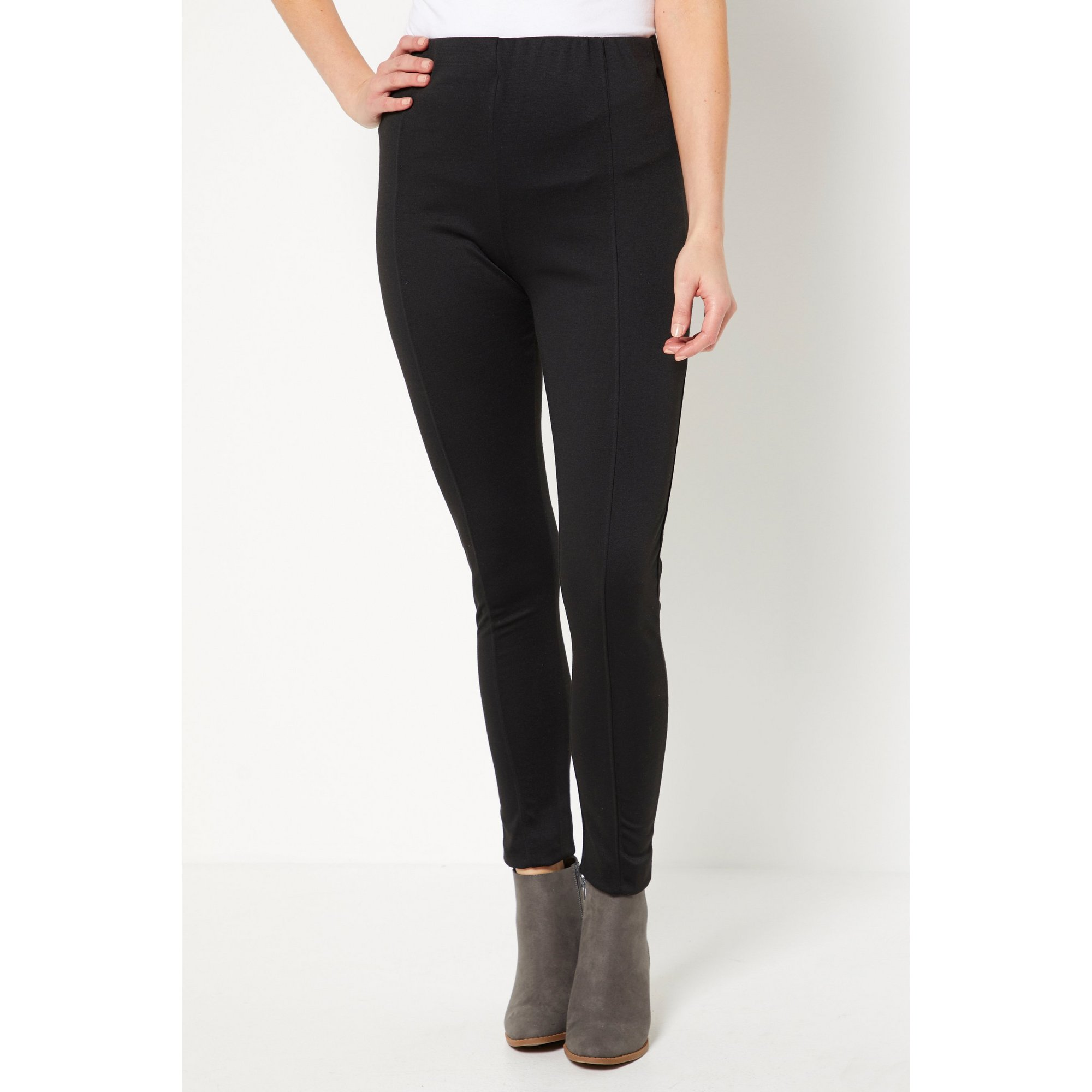 Image of In The Style Jac Jossa Black Ponte Leggings