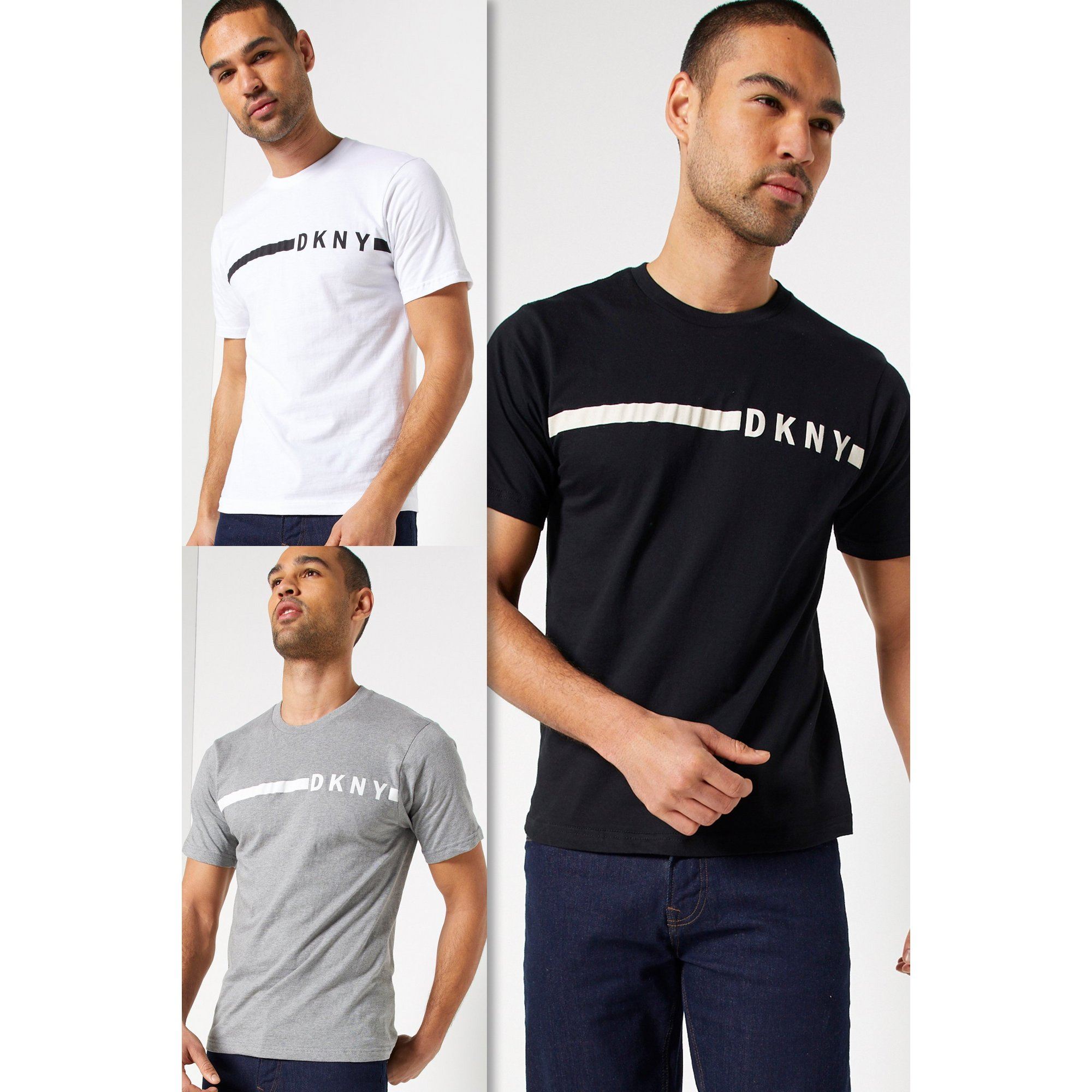 Image of DKNY Pack of 3 T-Shirts