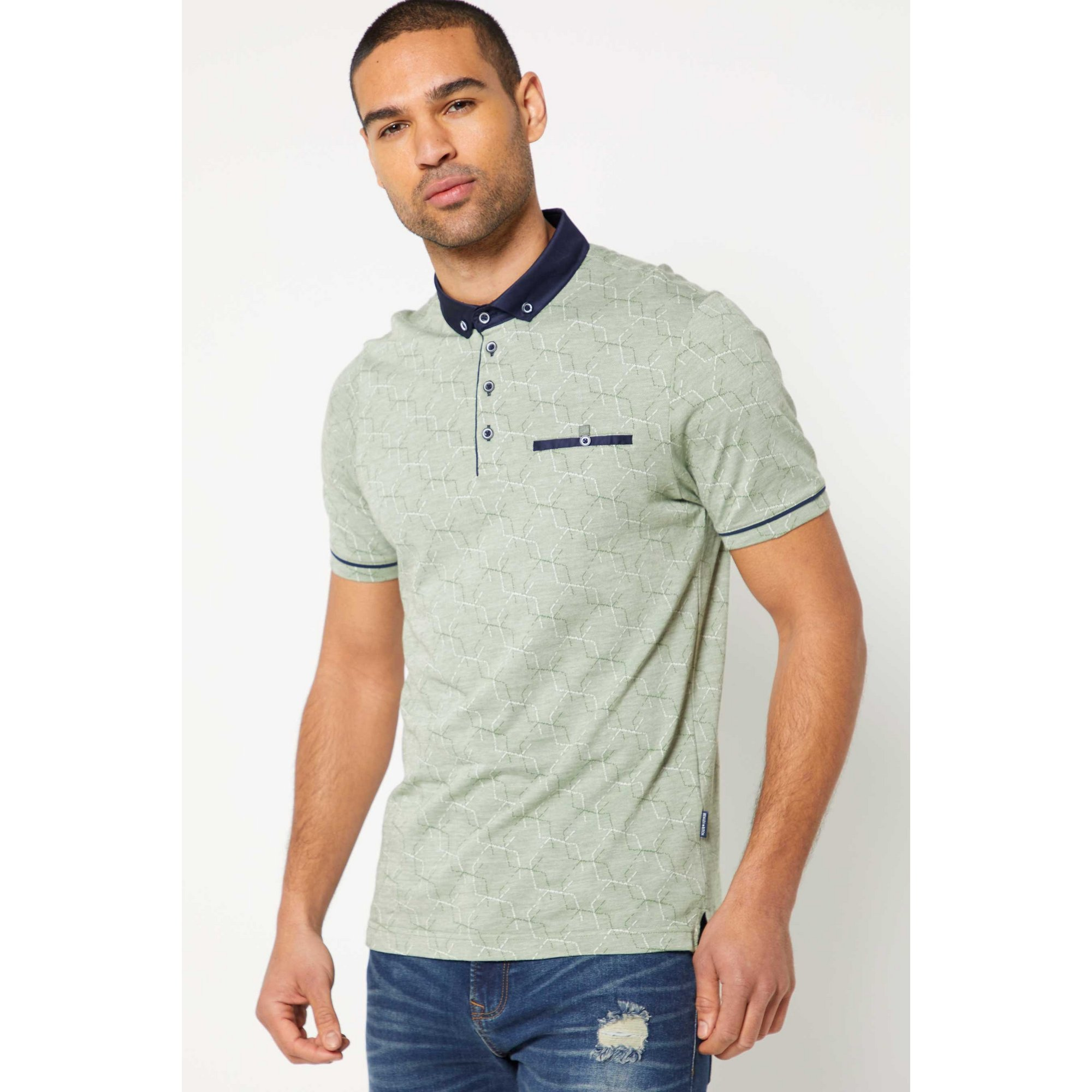 Image of Bewley and Ritch Astro Polo Shirt