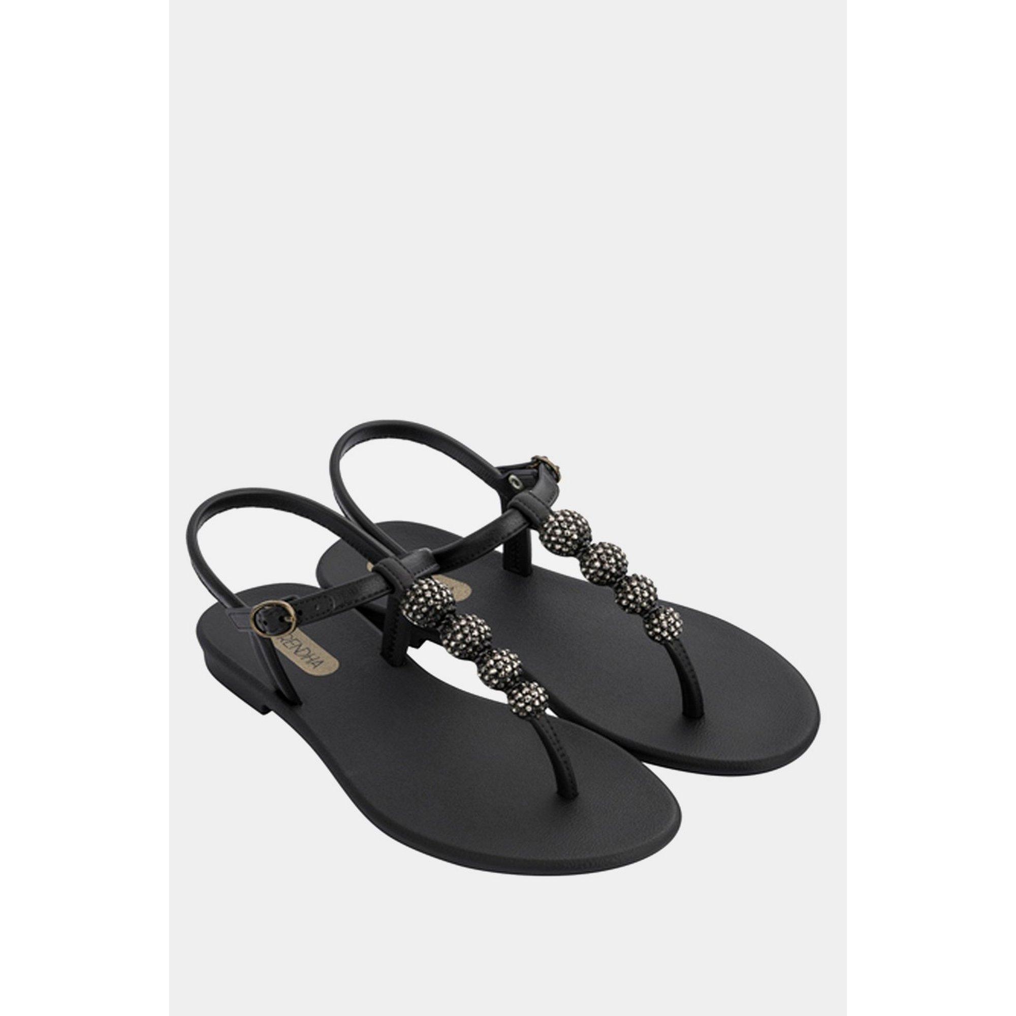 Image of Grendha Cacau Black Sandals