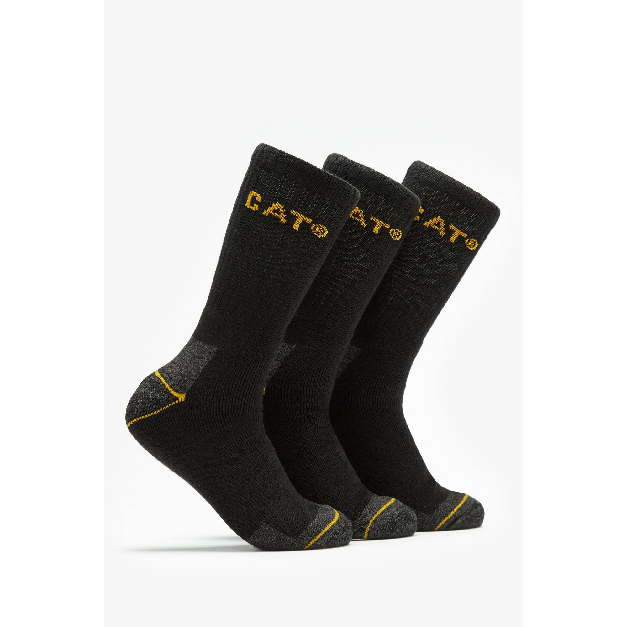 Image of Cat Pack of 3 Work Socks