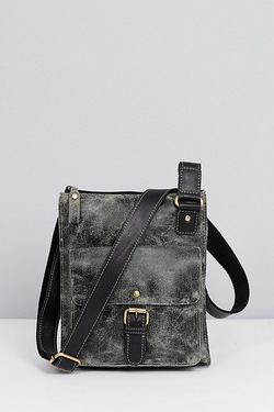 Rowallan Leather Buffed Casual Cross Body