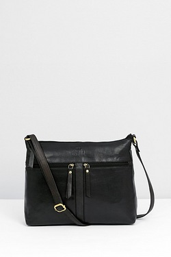 Rowallan Real Leather Oversized Cross Body