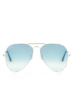 Ray-Ban Aviator - Silver/Blue