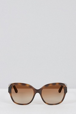 Michael Kors Oversized Logo Sunglasses