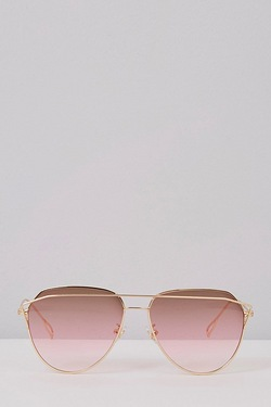 Aviator Sunglasses - Pink