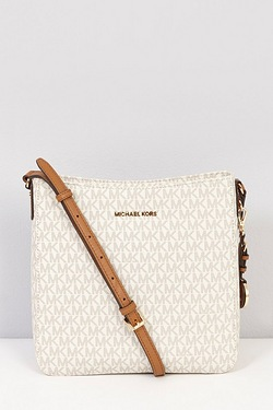 Michael Kors Signature Jet Set Messenger Bag