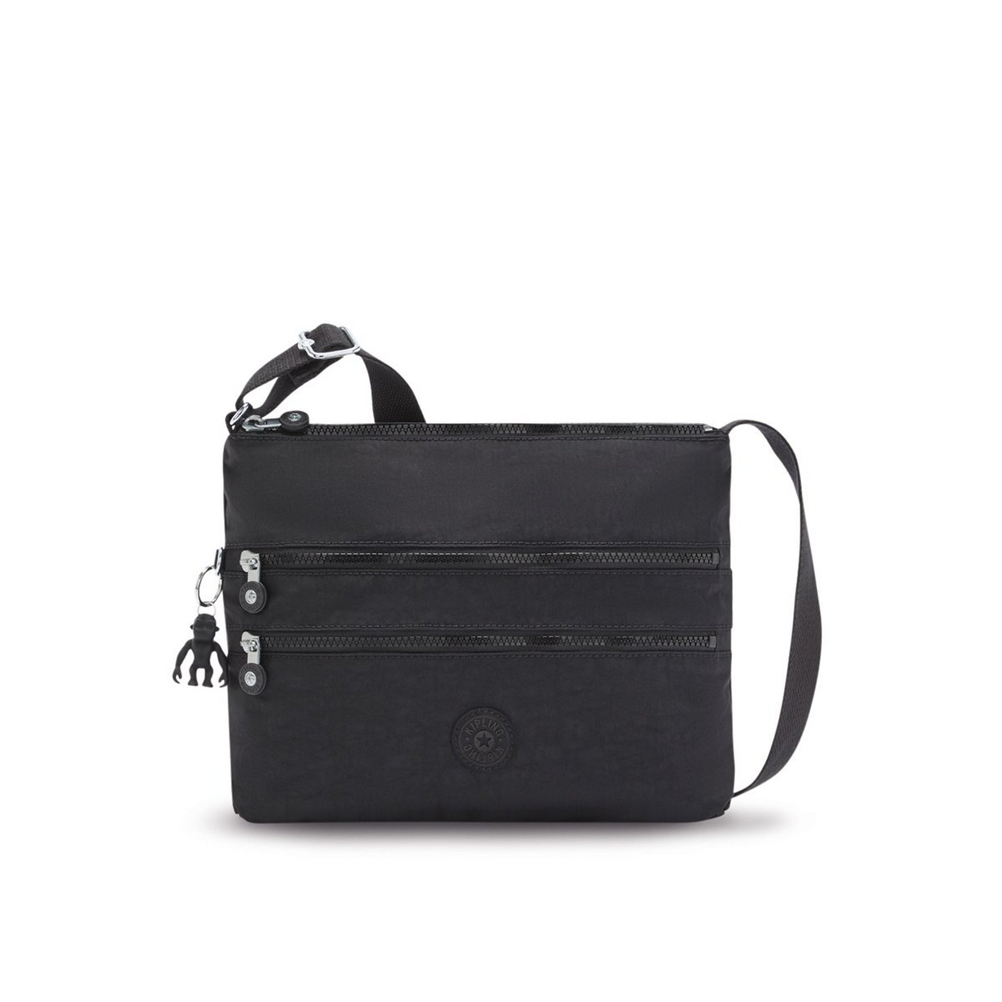 Image of Kipling Alvar Cross Body Black Bag