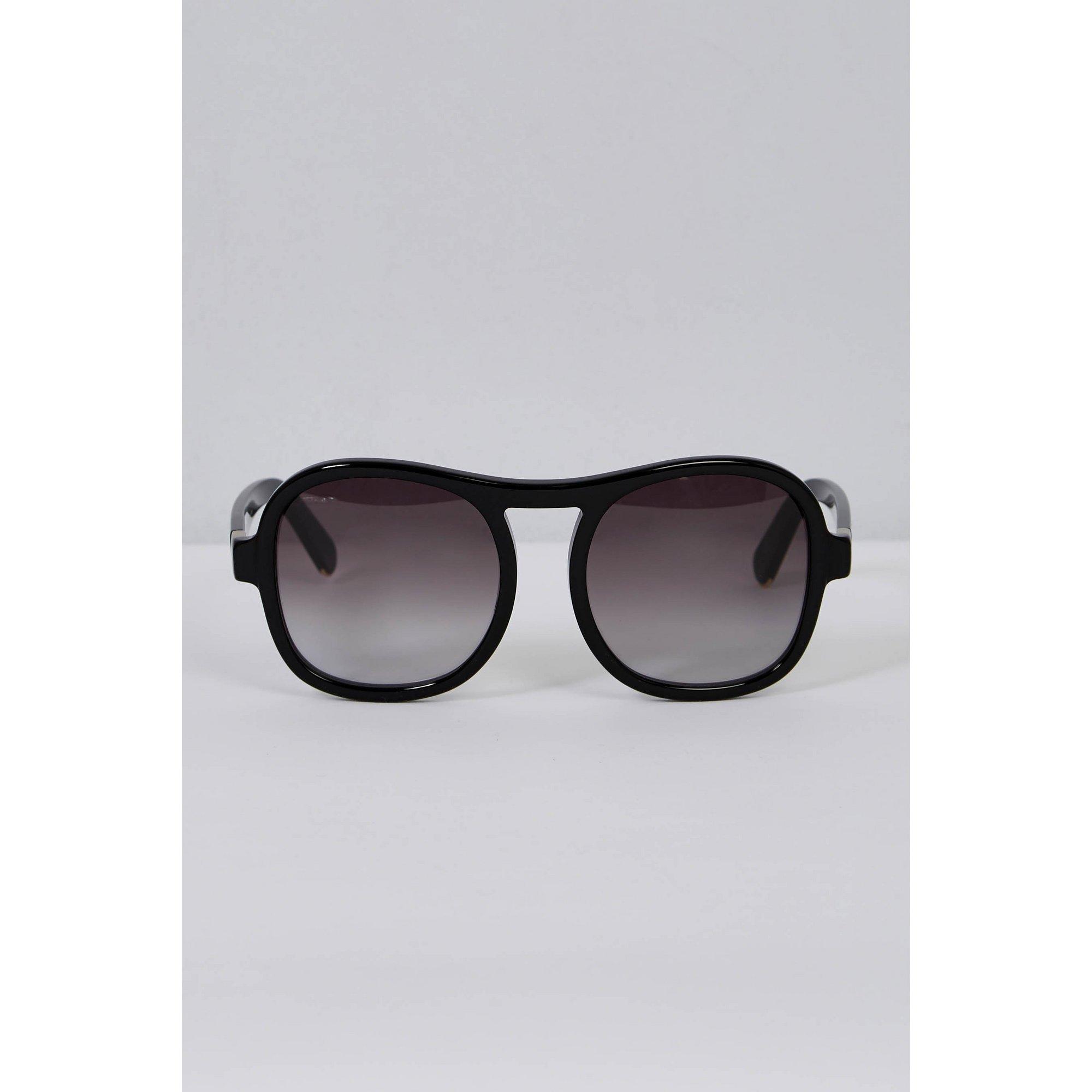 Image of Chloe Grad Black Square Sunglasses