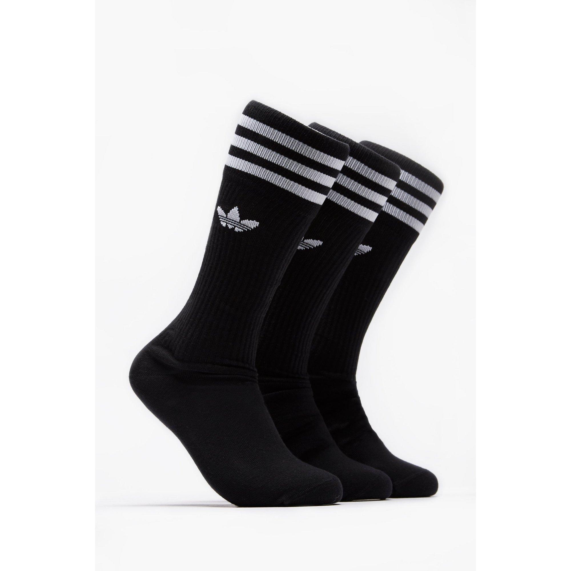 Image of adidas Originals Pack of 3 Crew Socks