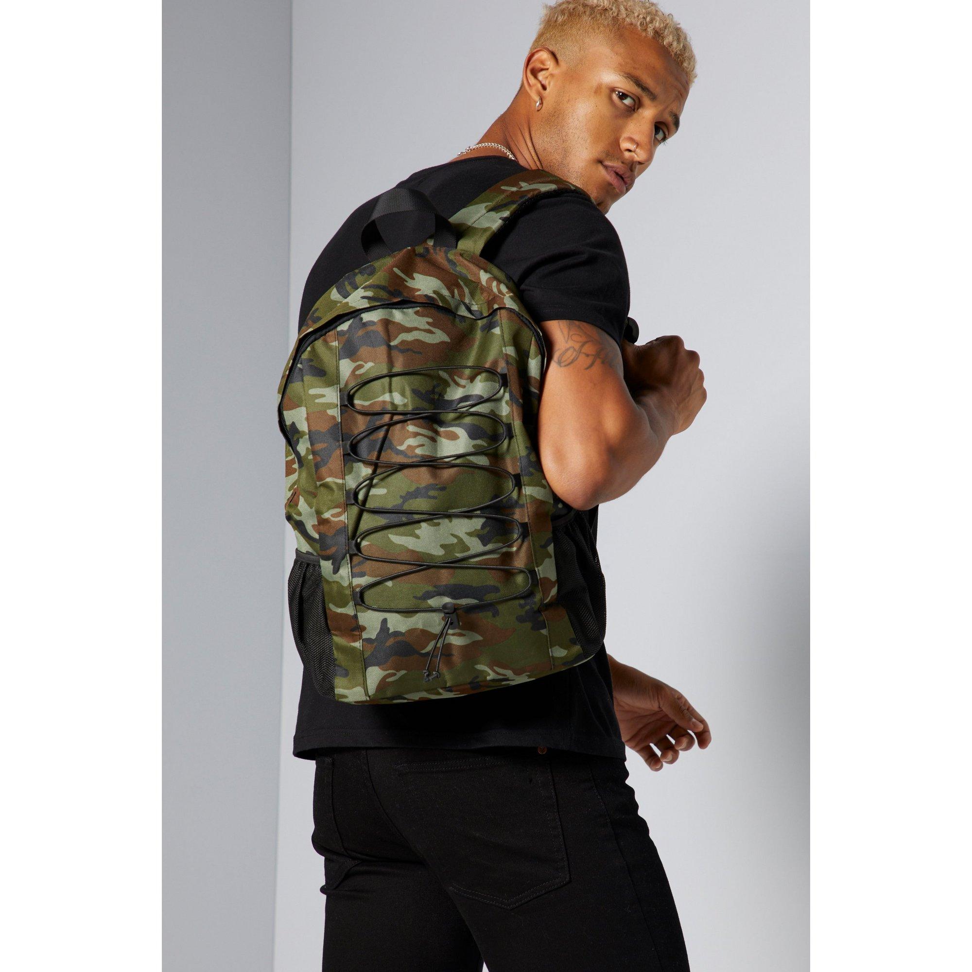 Image of Khaki Camo Backpack