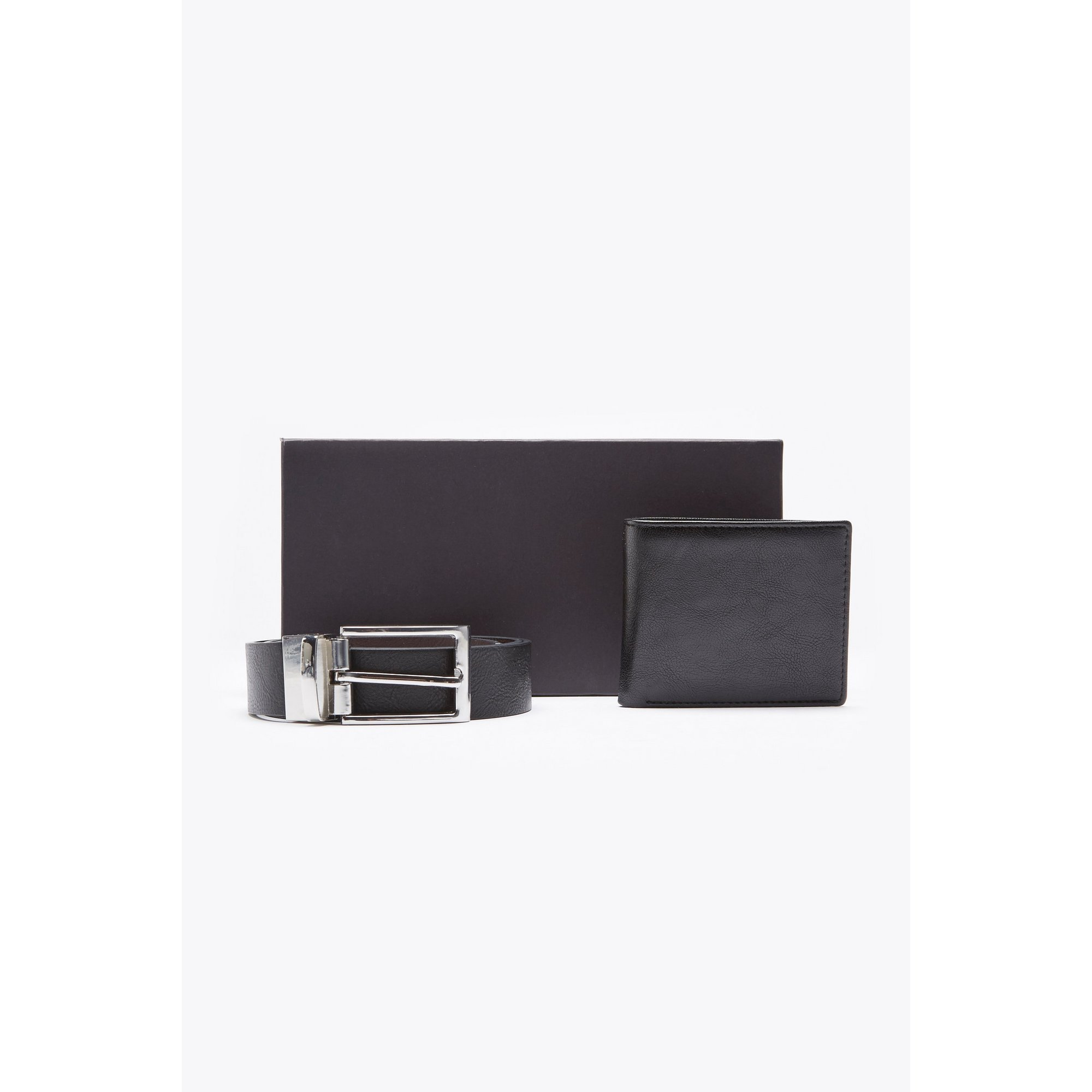Image of Black Belt and Wallet Gift Set