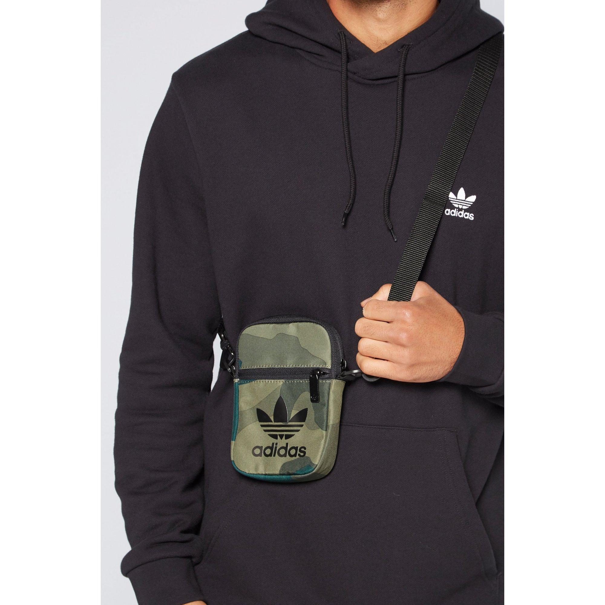 Image of adidas Originals Camo Crossbody Bag