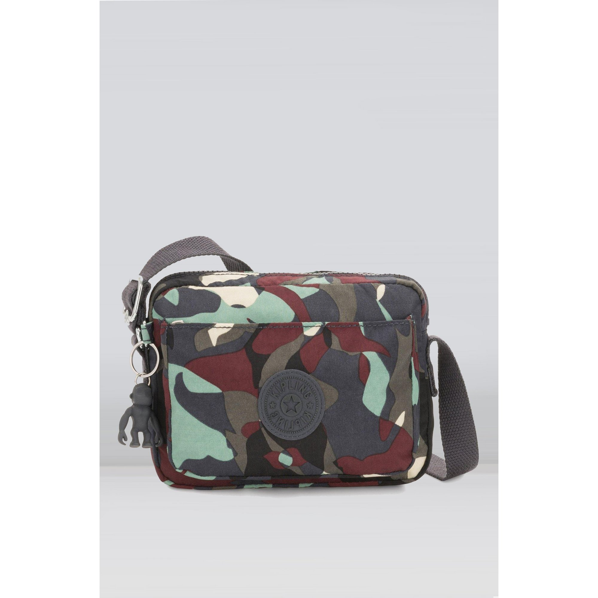 Image of Kipling Abanu Large Camo Cross Body Bag