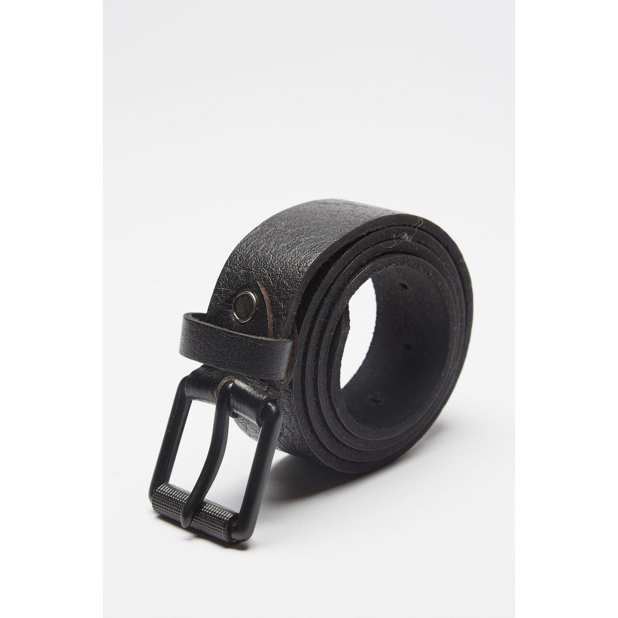 Image of Firelog Leather Roll Top Buckle Belt