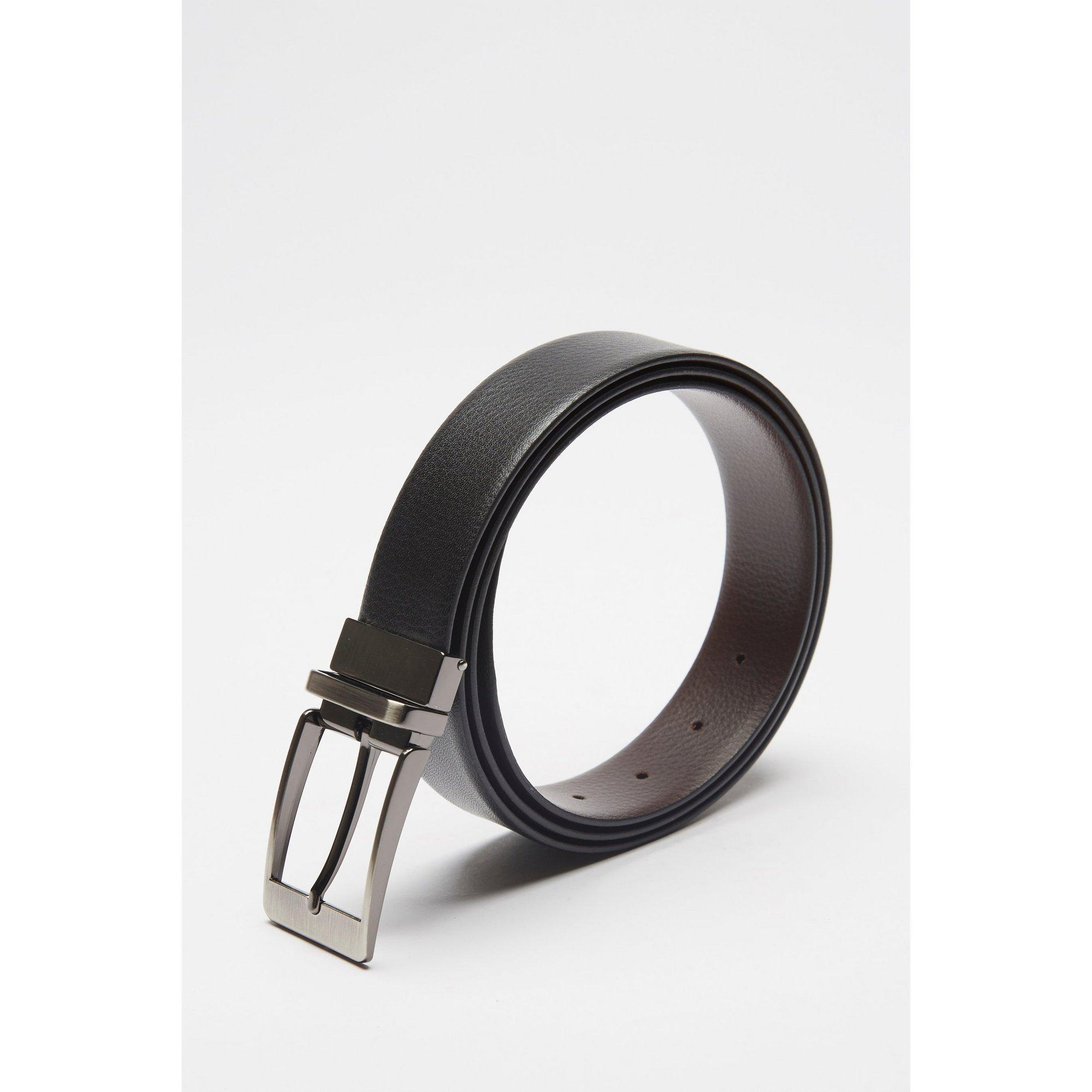 Image of Firelog Leather Grained Reversible Belt