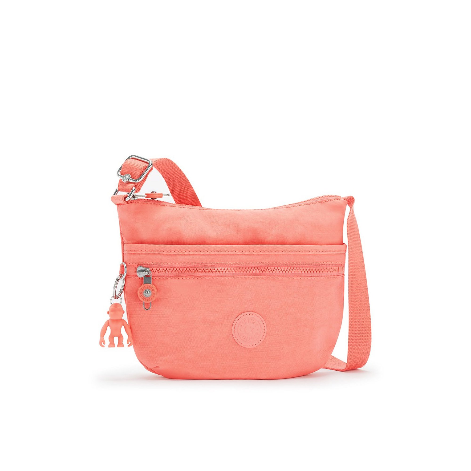 Image of Kipling Arto Fresh Coral Cross Body Bag