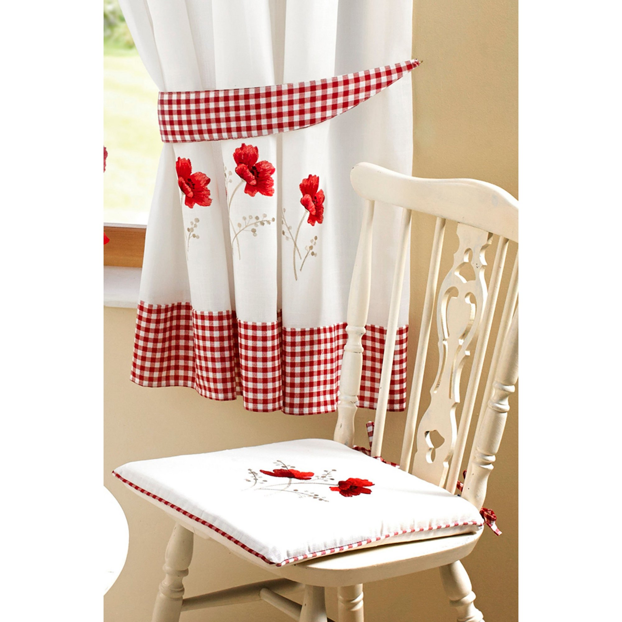 Image of Embroidered Kitchen - Seat Pad