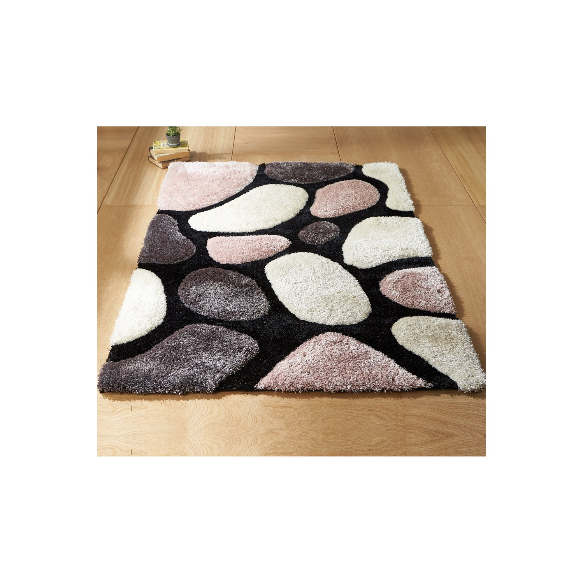 Image of 3D Stepping Stones Rug