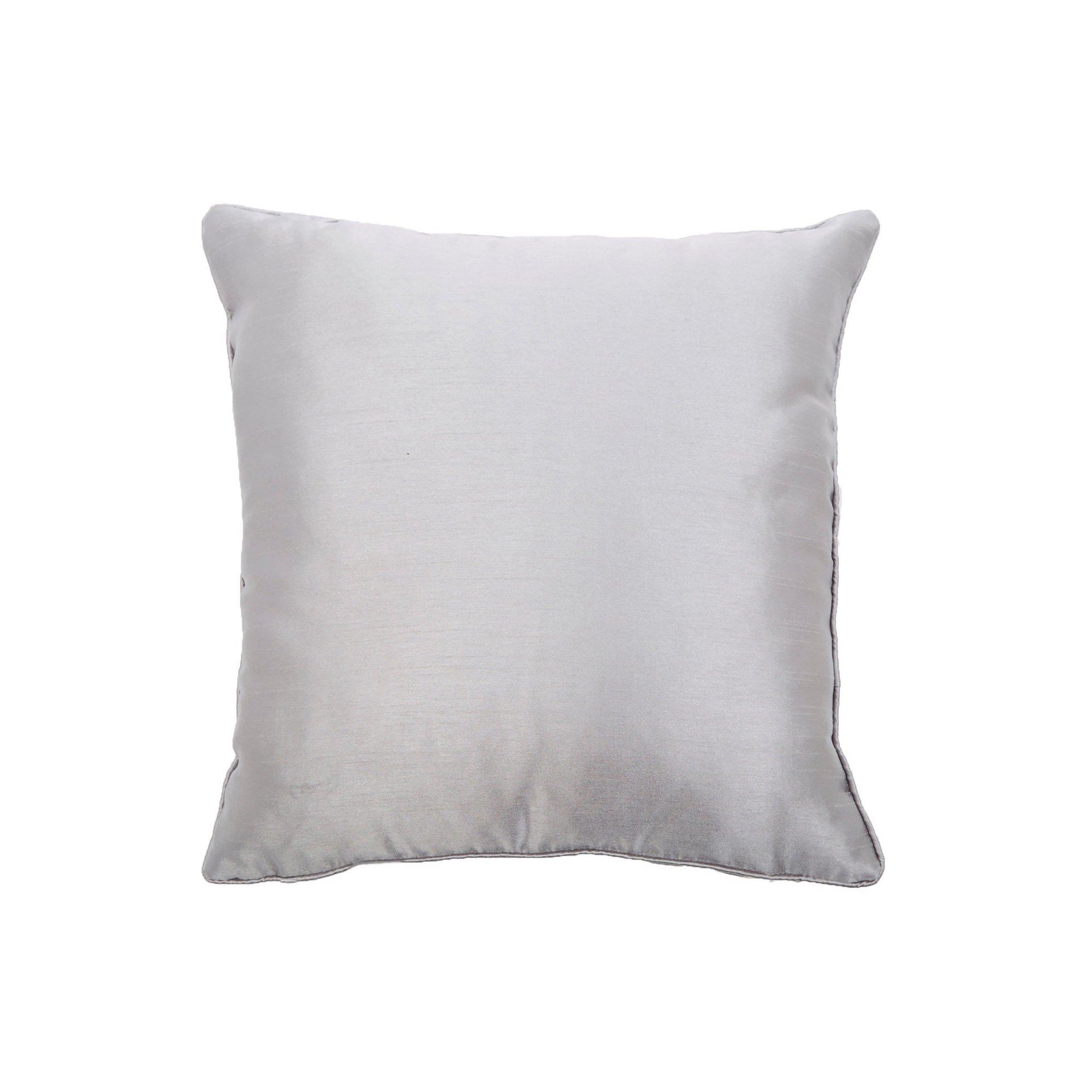 Faux Silk Filled Cushion