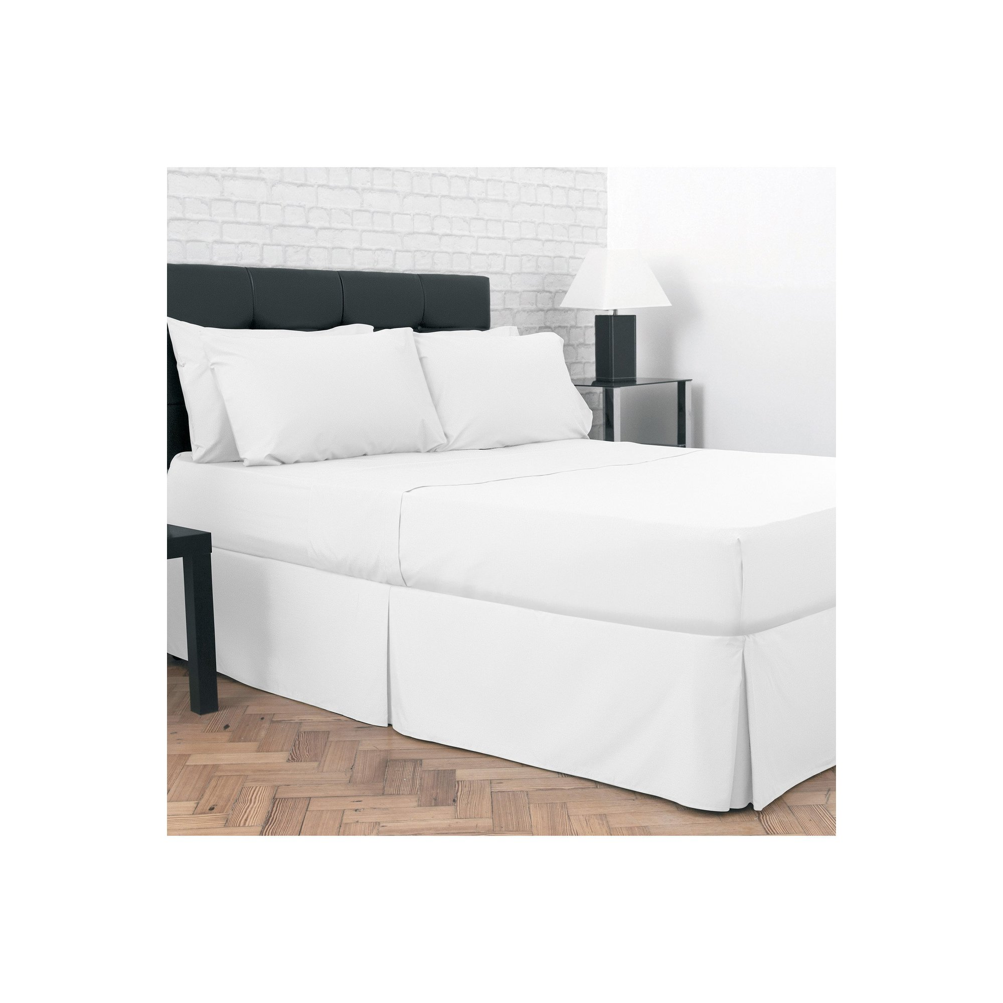 Image of 200 Count Percale Flat Sheet