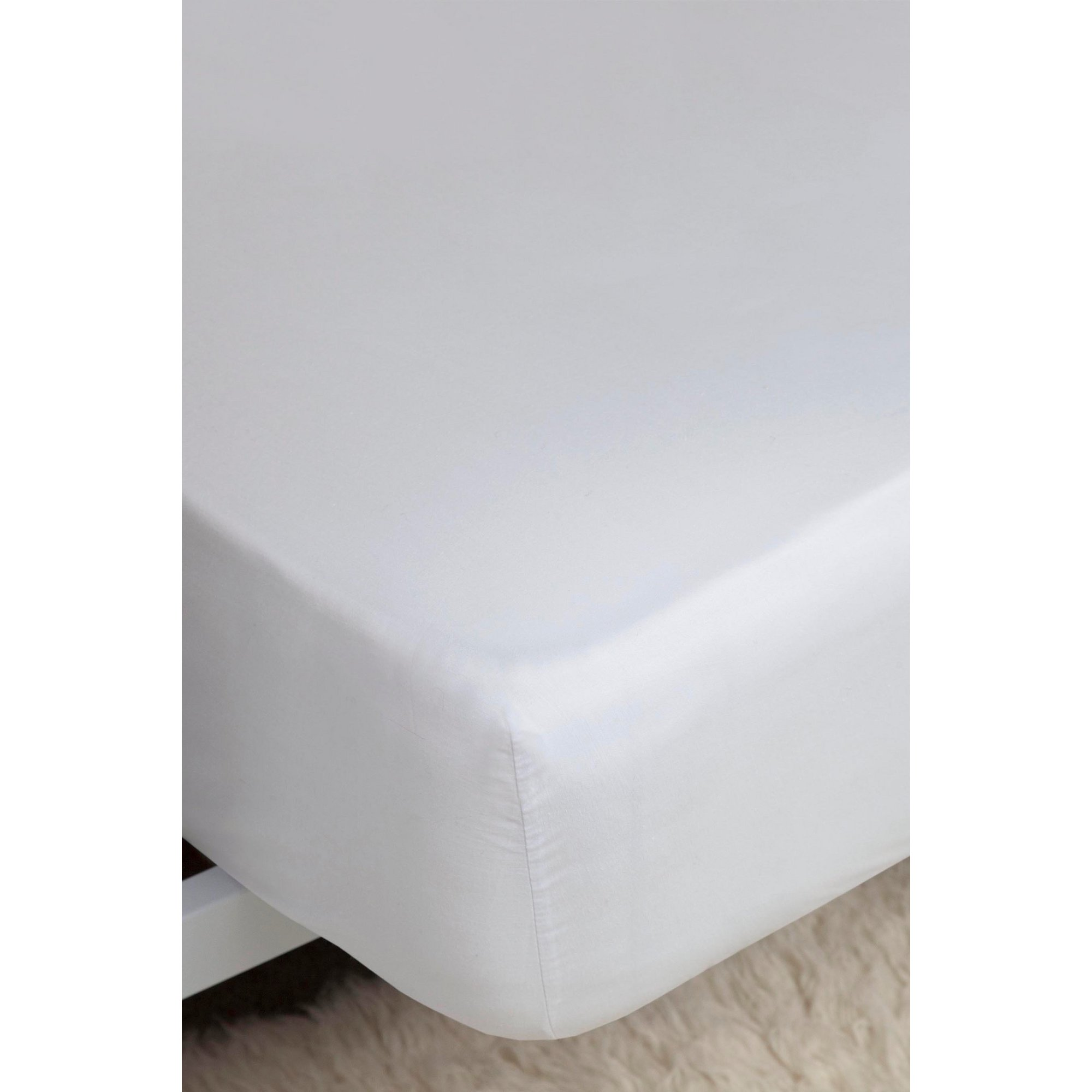 Image of 200 Count Percale Fitted Sheet