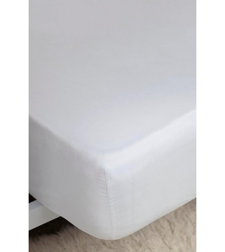 Image For 200 Count Percale Extra Deep Fitted Sheet From Studio