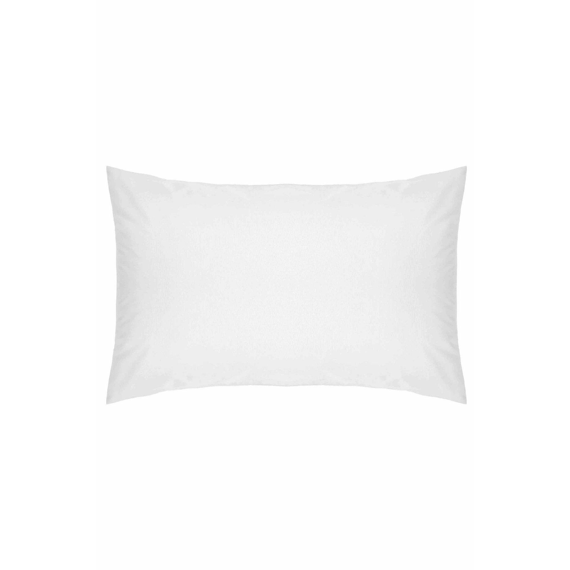 Image of 200 Count Percale Plain Hem Pillowcase
