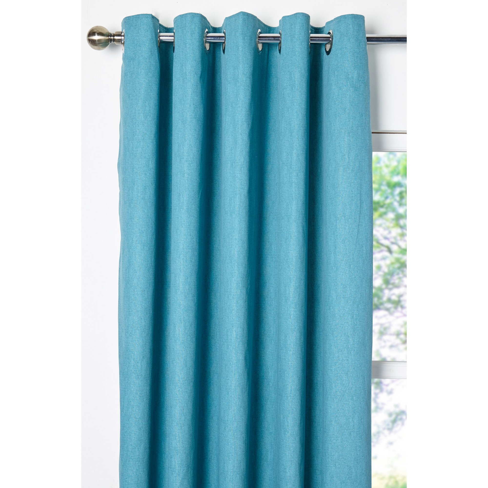 Image of Sorbonne Eyelet Lined Curtains