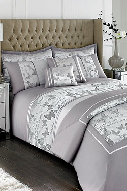 Opulent Butterfly Full Bedroom Set