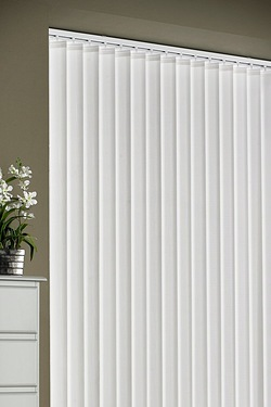 Striped Vertical Blind 54 Drop