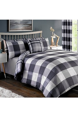 Clubhouse Check Bumper Duvet Set