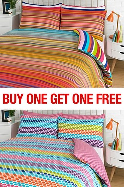 Haze Stripe Duvet Set