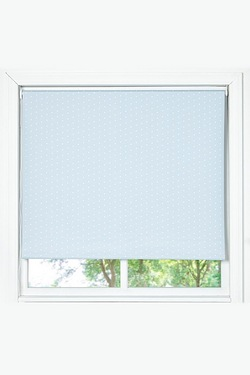 Polka Dot Blackout Roller Blind