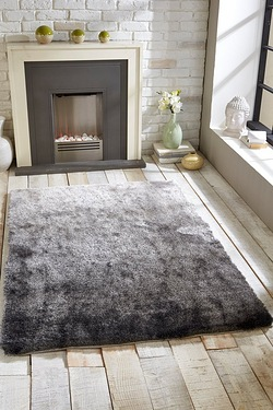 Ombre Shimmer Shaggy Rug
