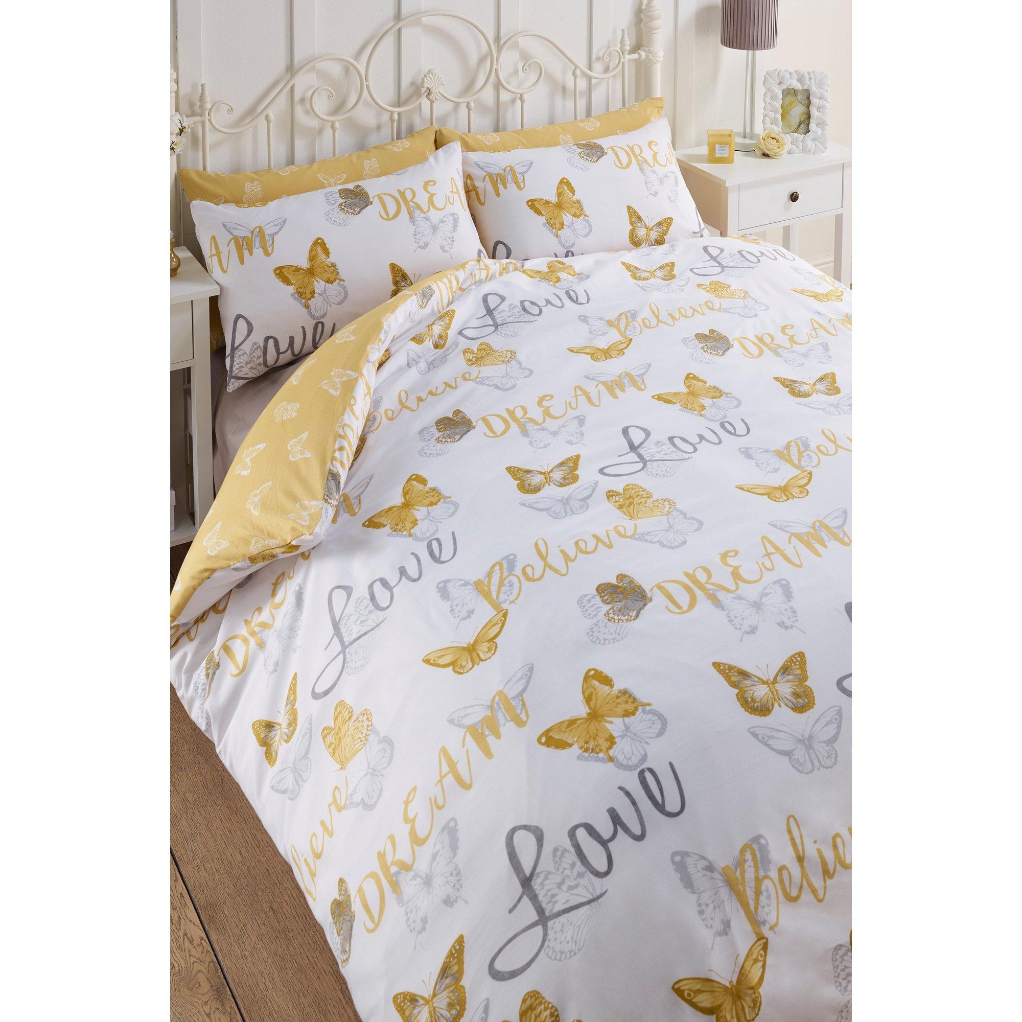Image of Butterfly Love Reversible Duvet Set