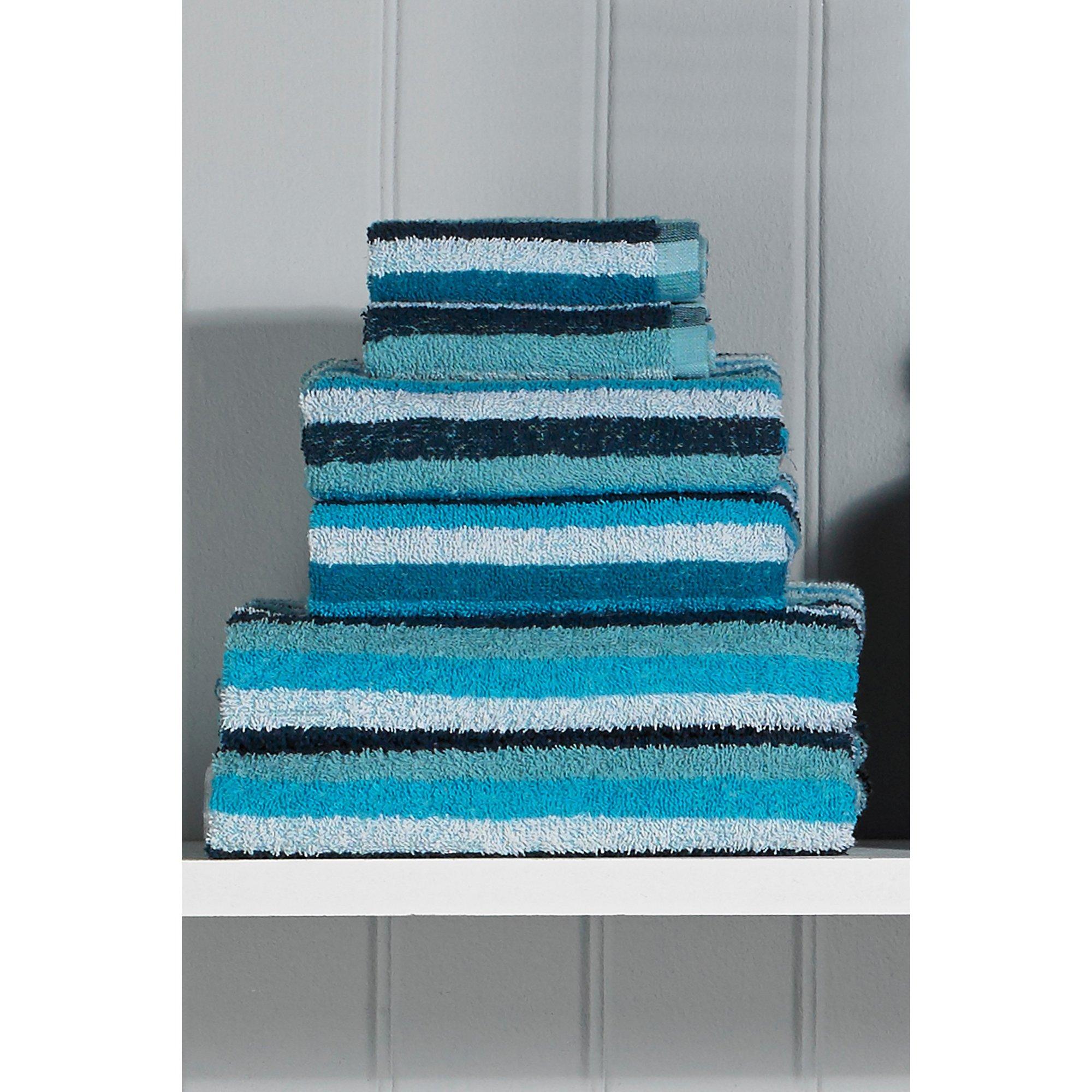 Image of Kingsley 6-Piece Striped Towel Bale