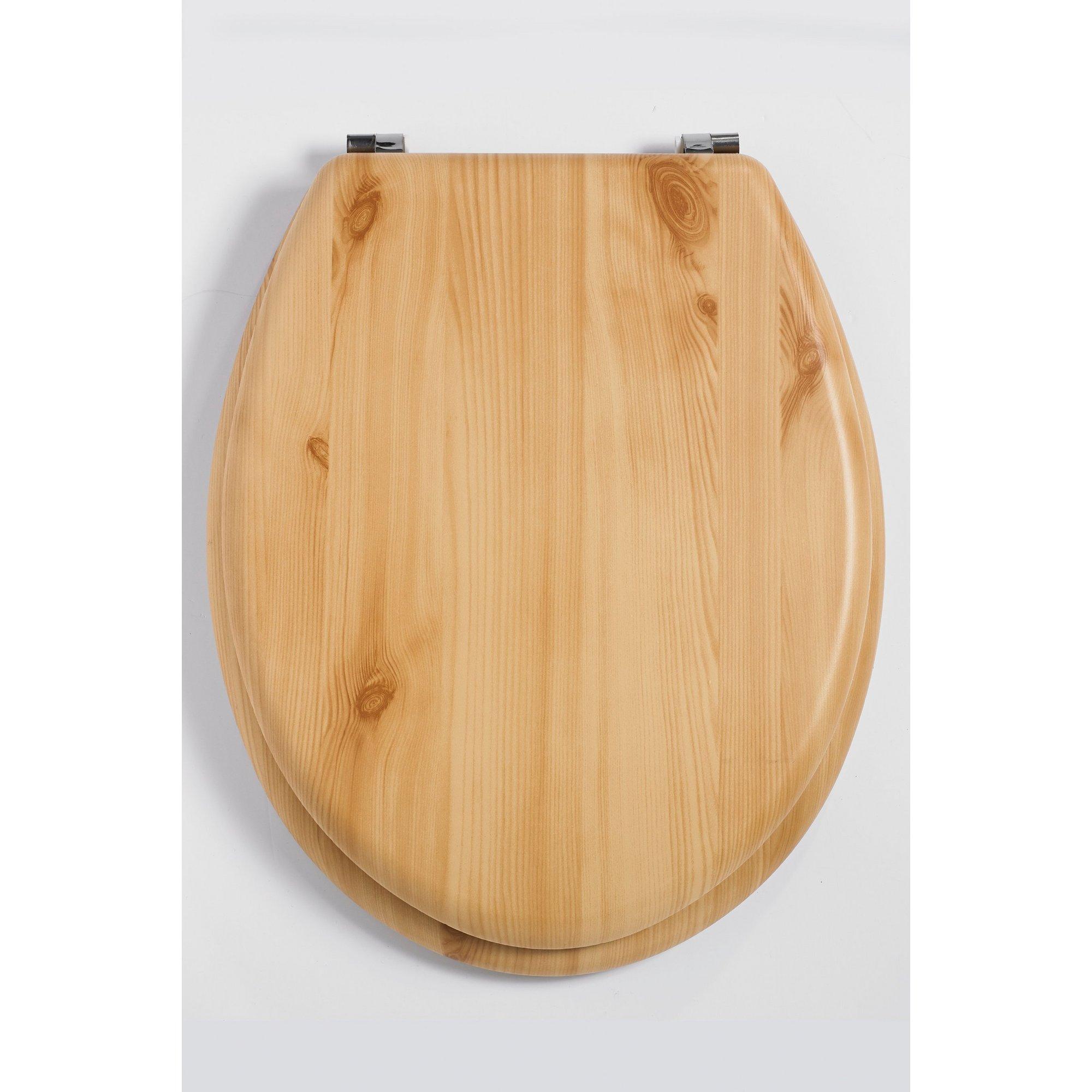 Image of Beldray Wooden Toilet Seat