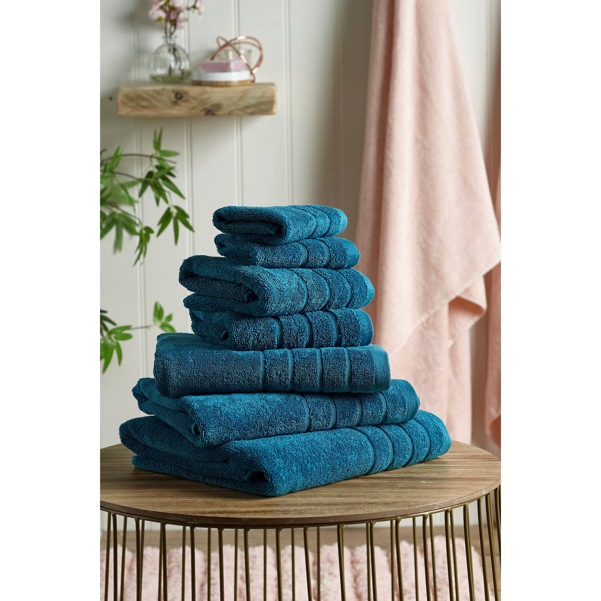 Image of Egyptian Cotton 7 Piece Towel Bale
