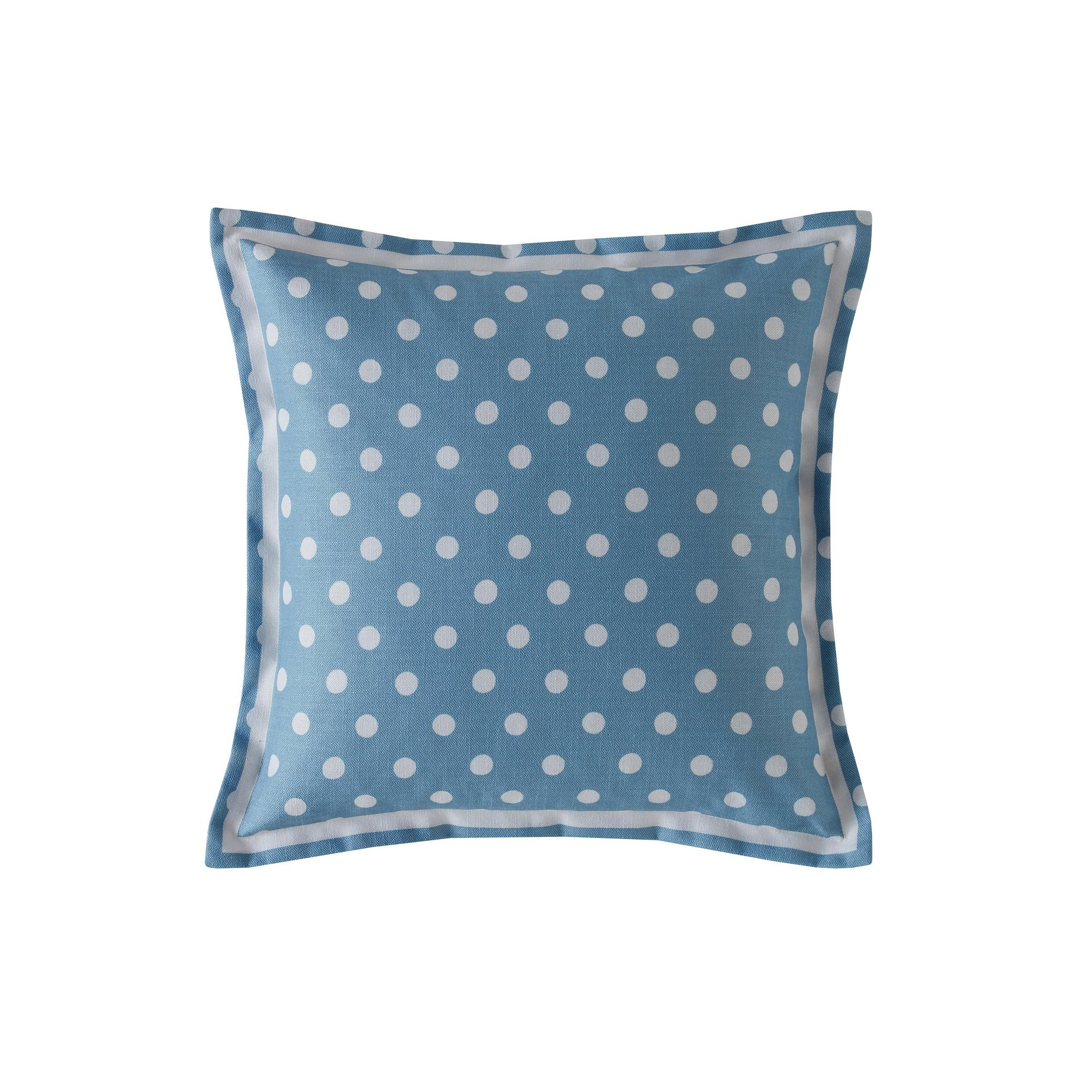 Image of Button Spot Filled Cushion