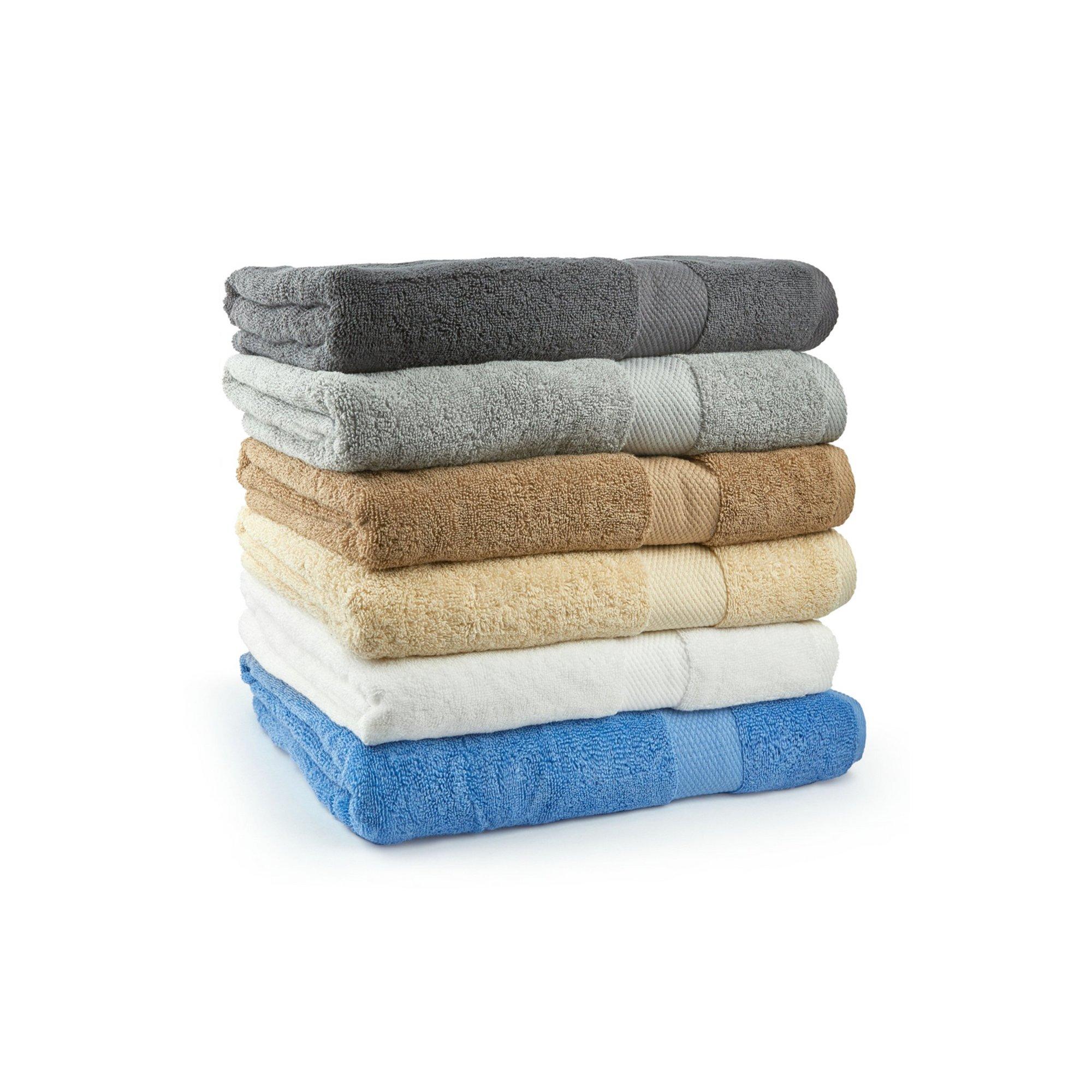 Image of Ascot Plain Dyed 2 Jumbo Bath Sheets
