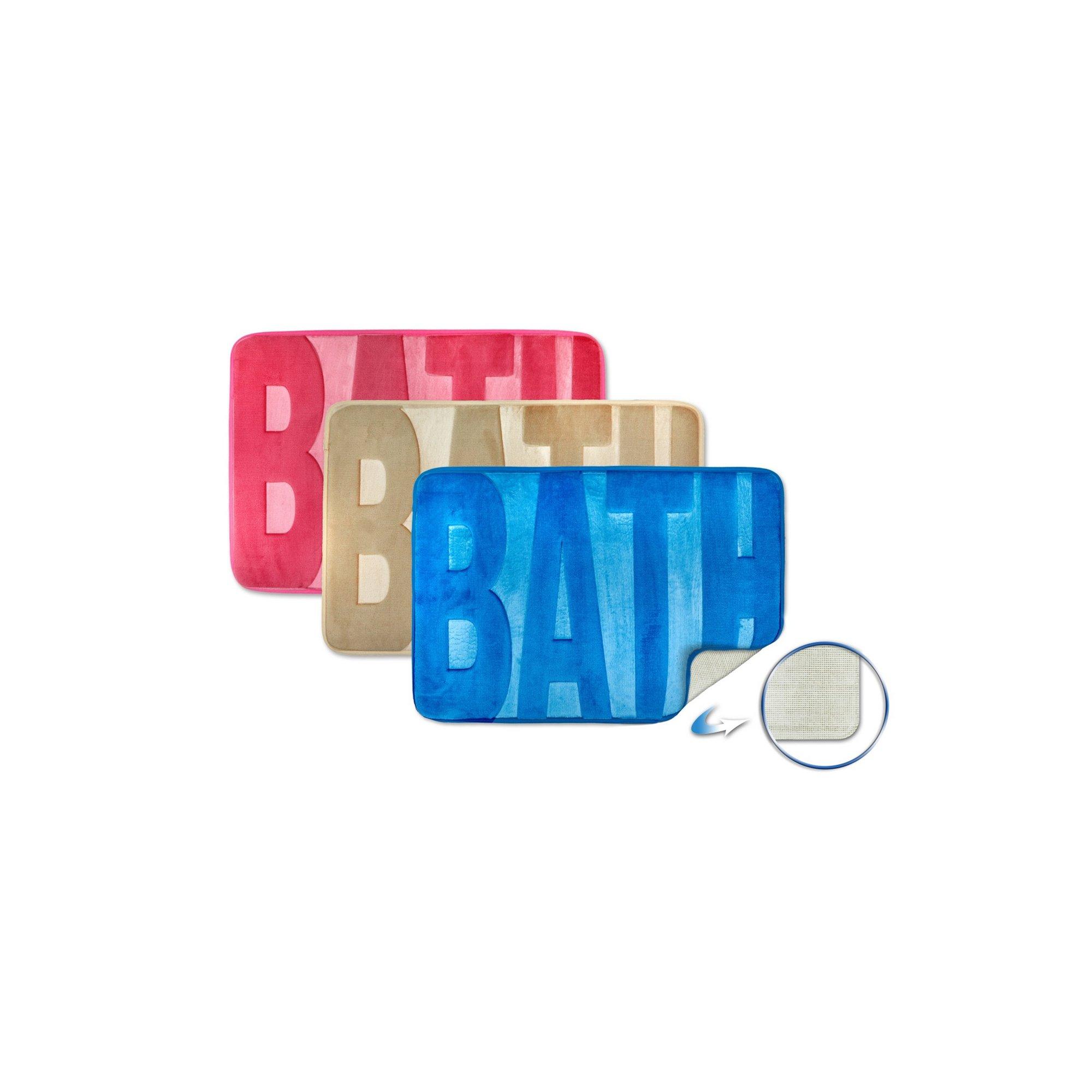 Image of Bath Embossed Memory Foam Bathmat
