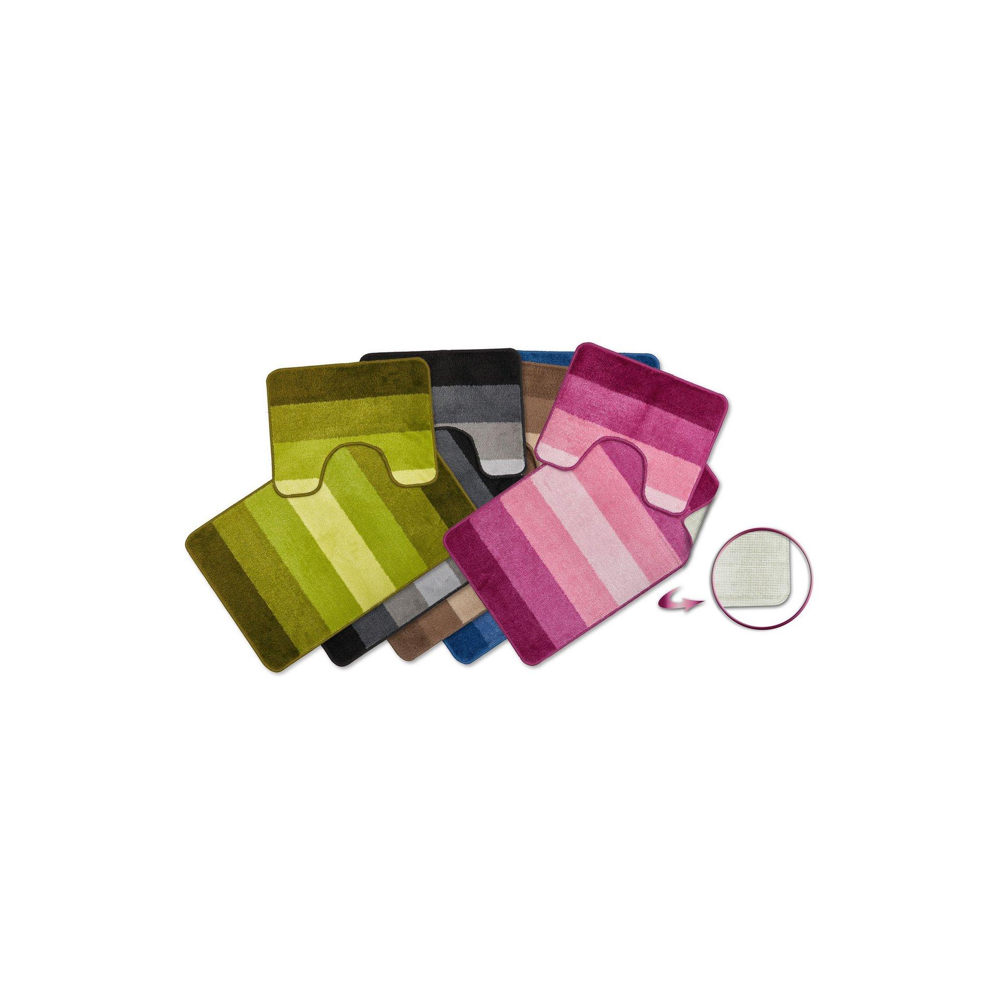 Image of Jersey Tonal Stripe 2 Piece Bath Set