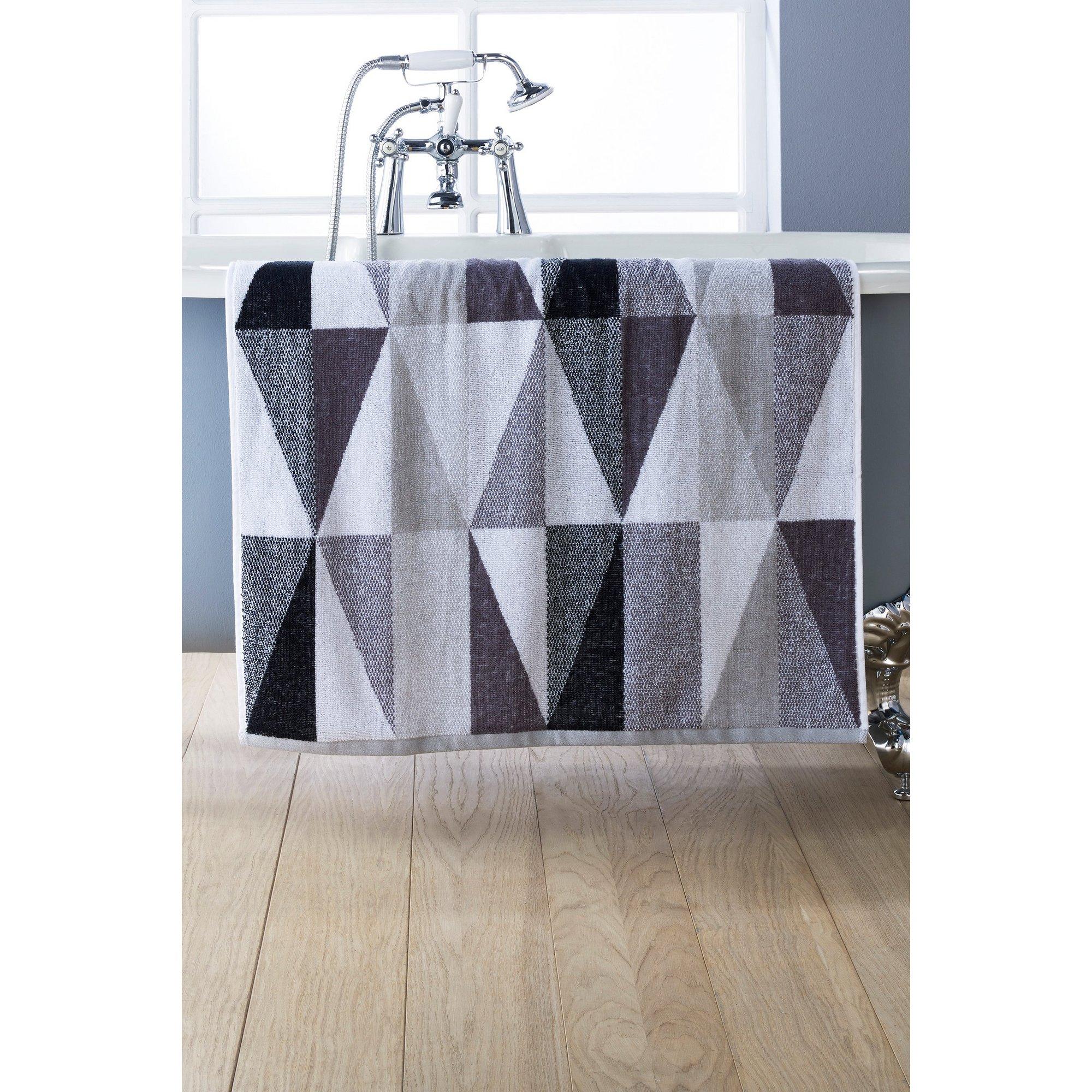 Image of Kingsley Diamond Geo Towels