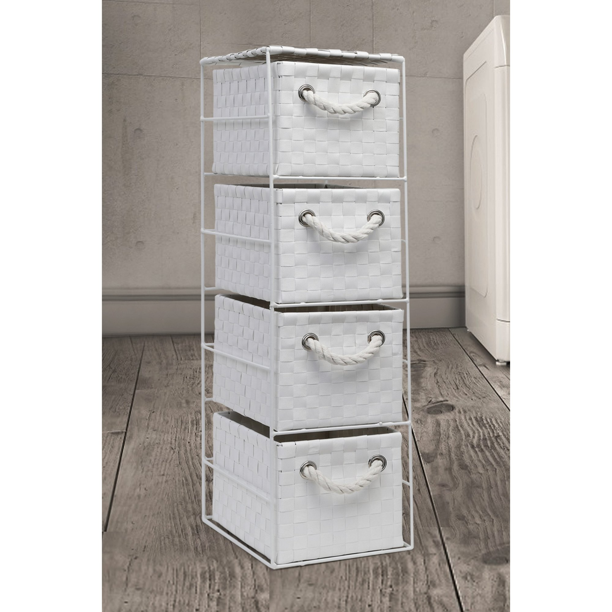 Image of Arpan 4 Drawer Storage Tower